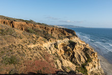Torrey Pines State Park In Southern California Offers Beautiful Rocky Coastal Views Of The Pacific Ocean
