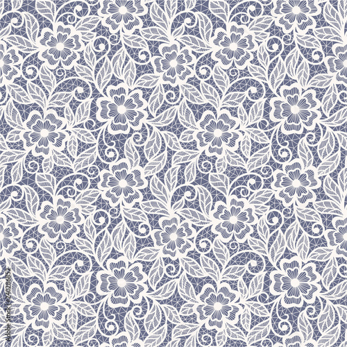 Fototapeta abstract  lace floral   background