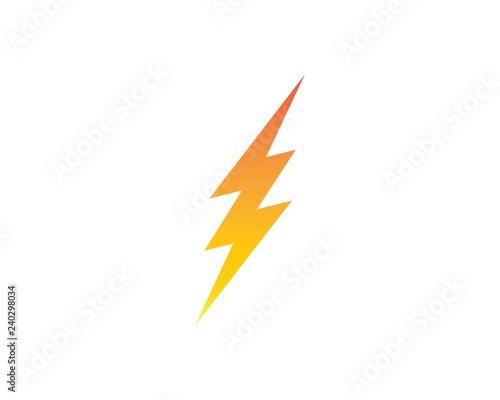 Valokuva  flash power of energy and electric illustration