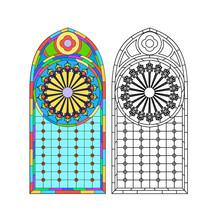 Gothic Windows. Vintage Frames...