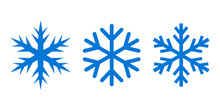 Snowflake Silhouette Vector Icon