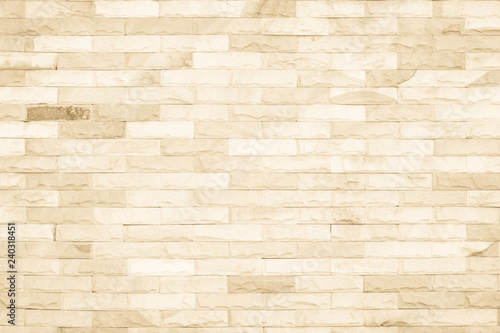 Cream colors and white brick wall art concrete or stone texture background in wallpaper limestone abstract paint to flooring and homework/Brickwork or stonework clean grid uneven interior rock old Wallpaper Mural