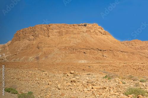 Fotografie, Obraz  The Cliffs of Masada