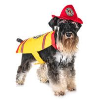 Firefighter Miniature Schnauzer