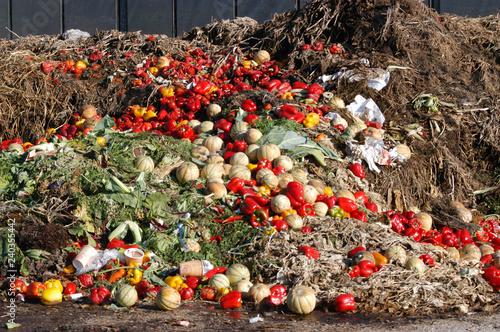Überschussvernichtung von Gemüse