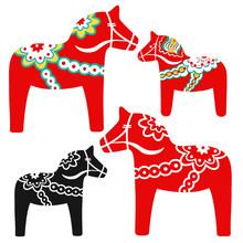 Red Dala Horse - National Symb...