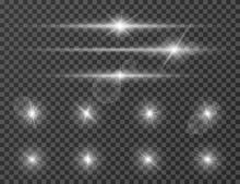 Light Flare. Optical Lens Glow...