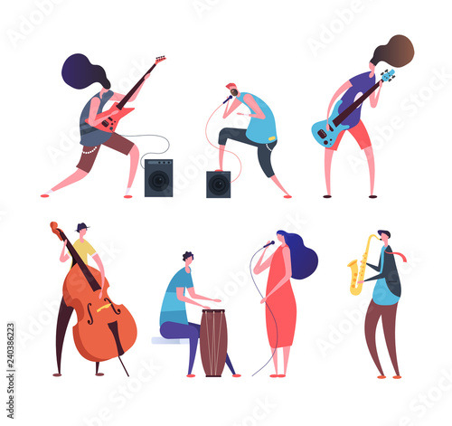 Obraz na plátně Music band