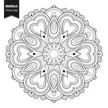Decorative Monochrome Ethnic M...