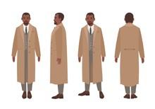 African American Man Dressed I...