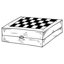 Chess Board. Vector Illustrati...