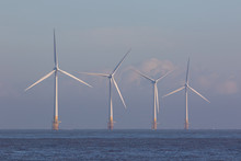 Offshore Wind Turbines. Green ...
