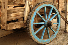 Old Wooden Wheel