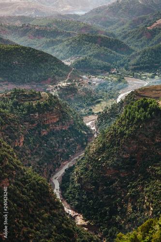 Fotografía  high atlas mountains in Morocco
