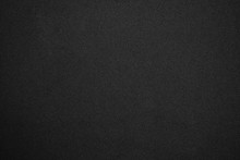Black Glitter Background With Tiny Rough Grain Textured, Sandpaper Texture Abstract Background.