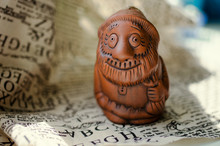 Figurine Of A Gnome With A Beard