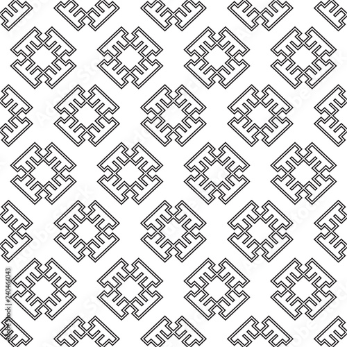 Deurstickers Positive Typography Vector abstract geometric islamic background. Elegant background for cards, invitations
