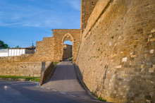 Montalcino Fortress Walls And ...