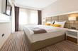 Leinwanddruck Bild - Interior of a luxury hotel bedroom
