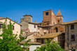 Historic buildings and towers of Certaldo old town