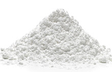 Icing, Powdered, Confectioners Or Caster Sugar Pile Side View
