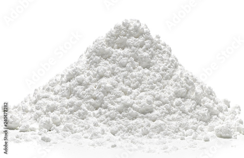 Fényképezés  Icing, powdered, confectioners or caster sugar pile side view
