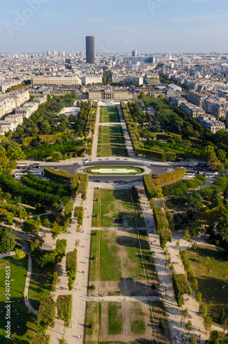 Fotografie, Obraz  Paris skyline with Montparnasse tower