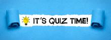 It´s Quiz Time!