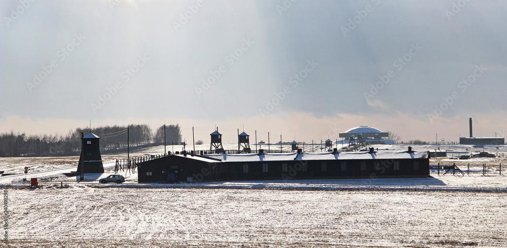 Fototapeta Majdanek concentration camp, Lublin, Poland