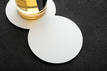 Empty Beer Coaster For Bar. Sp...