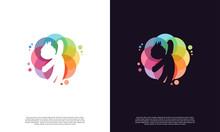 Colorful Kids Play Logo Vector, Children Logo Designs Template, Design Concept, Logo, Logotype Element For Template