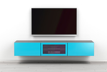 Wall Mounted Tv Cabinet And Bi...