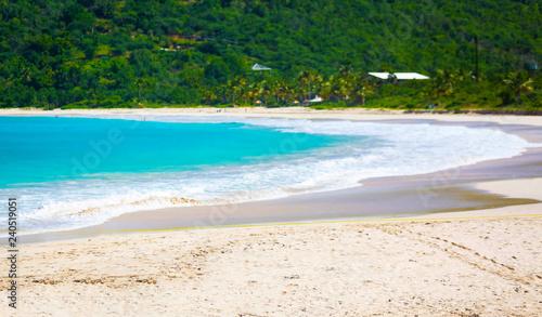 Fotografie, Obraz  Flamenco Beach seaside shore Culebra Puerto Rico