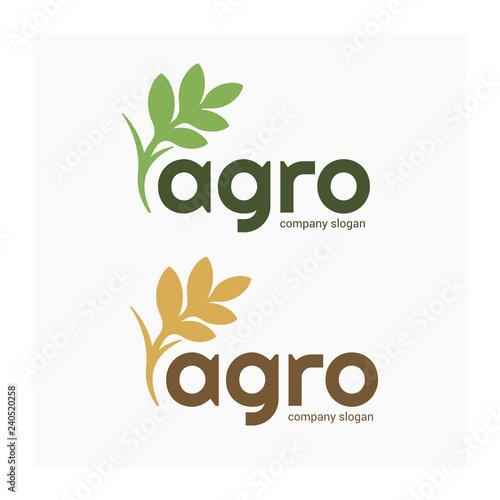 Agro company logo Wallpaper Mural