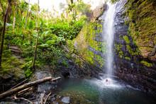 Juan Diego Falls At El Yunque ...