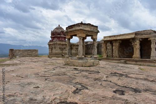 Fotografie, Obraz  Dindigul, Tamilnadu, India - July 13, 2018: Dindigul Under Madurai Nayaks