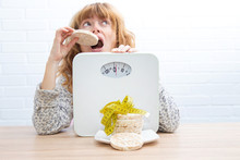 Diet And Slimming Concept, Cor...