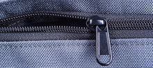Zip Close Up Macro On Clothes Background