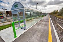 Toronto, Canada-20 November, 2018: Go Train Stations, A Regional Public Transit System Serving The Greater Golden Horseshoe Region Of Ontario