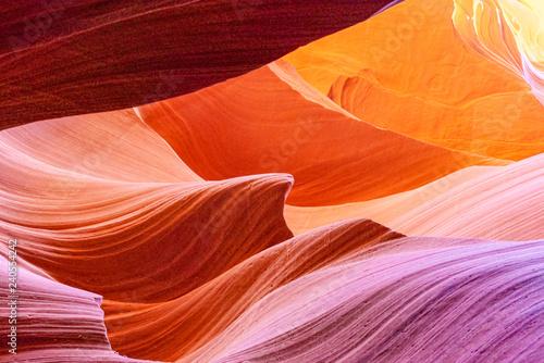 Slika na platnu Antelope Canyon is a slot canyon in the American Southwest.