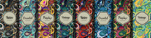 Set Of Seamless Patterns In Vi...