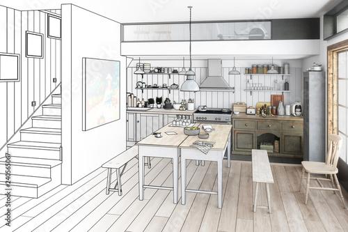 Küche: renoviert (Vorschau)