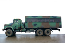 Military Vehicle For Transport...