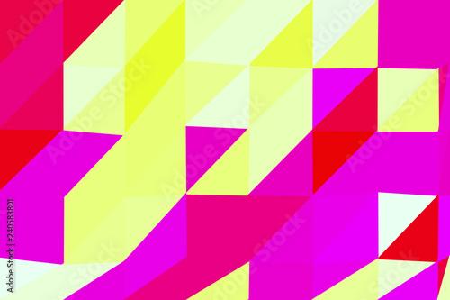 Foto op Aluminium ZigZag Abstrakter Low-Poly-Hintergrund aus Dreiecken