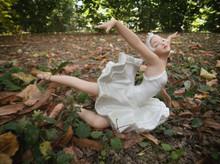 Ballerina In The Park, Ceramic...