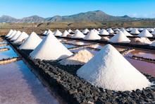 Salt Piles On A Saline Explora...