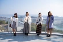 尾道での女子旅記念写真