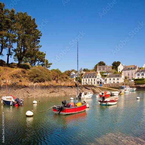 Village de Doëlan dans le Morbihan > Bretagne > France