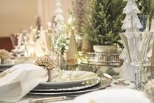 Christmas Tablescape Decoration