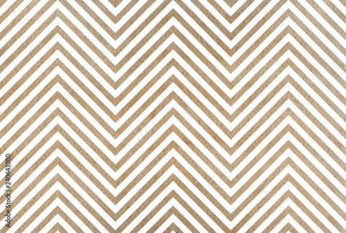 Watercolor stripes background, chevron. - 240643080